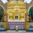Dharmikarama burmese temple, Malaysia — Stock Photo
