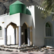 The mosque in village Bilad Sayt, sultanate Oman - Stock Photo
