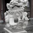 Traditional Chinese stone lion — Stock Photo #8119904