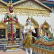 Sculpture at the Thai temple Wat Chayamangkalaram in Penang — ストック写真