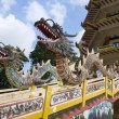Colorful Of Dragon Statue — Foto Stock