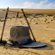 Stock Photo: Water well in OmDesert