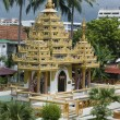 Dharmikarama burmese temple on island Penang — Stock Photo #9376010