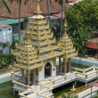 Dharmikarama burmese temple on island Penang — Stock Photo