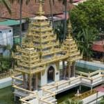 Dharmikarama burmese temple on island Penang — Stock Photo