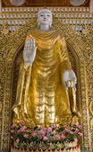 Sculpture Buddha — Stock Photo
