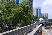 在马来西亚吉隆坡单轨列车. — 图库照片