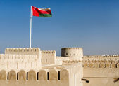 Sunaysilah Castle or Fort in Sur, Sultanate Oma — Stock Photo