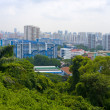 Top view of Singapore City — Stock Photo #9656593