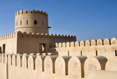 Fort of Sur, Oman. Middle East — Stock Photo