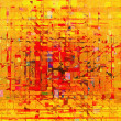 Color abstract lines in an oil picture — Stock Photo #9271314