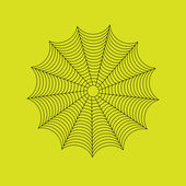 Spider web — Stock Vector
