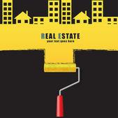 Real estate concept design. — Stock Vector