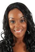 Beautiful Black Woman, Headshot (36) — Stock Photo