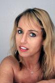 Beautiful Blonde Headshot (4) — Stock Photo