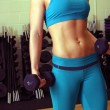 Stock Photo: Athletic Female Torso (2)