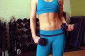 Athletic Female Torso (1) — Stock Photo