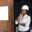 Stock Photo: Lovely Female Construction Admin (1)