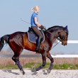 Horsewoman — Stock Photo #10533820