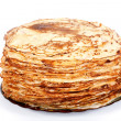Stock Photo: Pile of pancakes