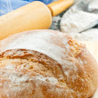 Close Up Of Fresh Baked Bread — Stock Photo