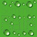 Water Drops Words — Stock Vector #10148533