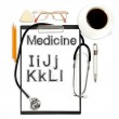Abstract medical background — Stock Photo