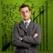 Businessman In Suit — Stock Photo #8611240