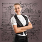 Business Woman — Stock Photo #8611382