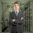 Businessman In Suit — Stockfoto
