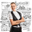 Business Woman — Stock Photo #9068240