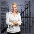 Young Businesswoman — Stock Photo #9159567