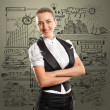 Business Woman — Stock Photo #9821607