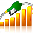 Fuel price — Vettoriale Stock #8147393