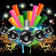 Royalty-Free Stock Vector Image: Music celebration