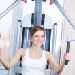 Young woman at the gym - Foto Stock