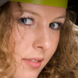 Beautiful curly girl - Stockfoto