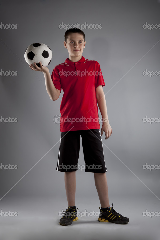 Sport themed, leisure, active life of young . Shot in studio. — Stock Photo #8179109