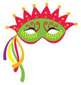 Mardi Gras Mask 3 — Stock Vector