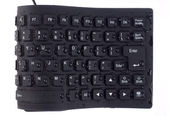 Black keyboard — Stockfoto