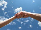 Shake hands — 图库照片