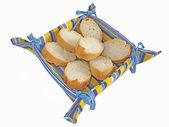 Rodajas de pan — Fotografia Stock