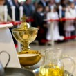 The blessed sacraments on the alter — Stock Photo