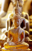 Golden Buddha in Thailand — Stock Photo