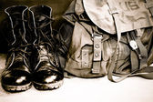 Army Boots — Stock Photo