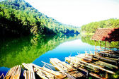 Pang-ung lake — Stock Photo