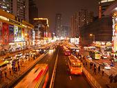 Sklepy komputerowe rynku tianhe road, guangzhou, chiny — Zdjęcie stockowe