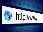 Webový prohlížeč — Stock fotografie