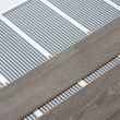 Carbon film floor heating - Stock Photo