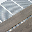 Stock Photo: Carbon film floor heating